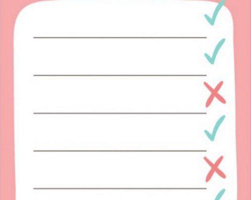 لیست کاری مناسب