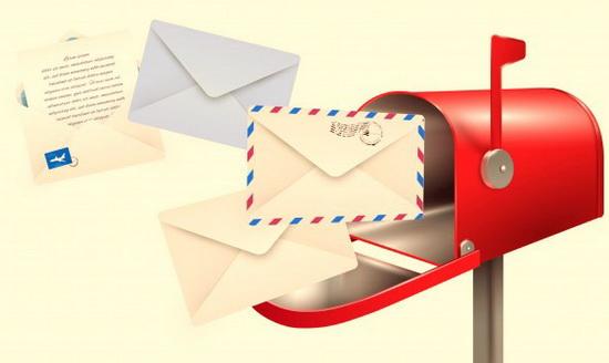کنترل صندوق ورودی ایمیل