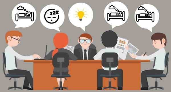 به دنبال راهکاری برای کاهش زمان جلسات طولانی باشید