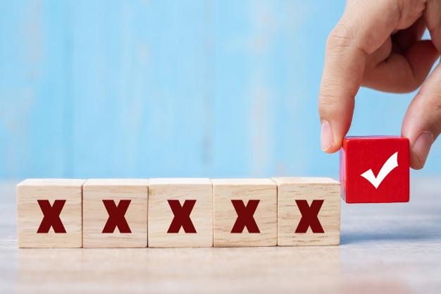 راهکار جلوگیری از تصمیم اشتباه