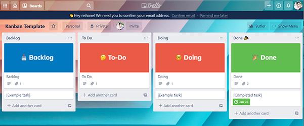 معرفی بهترین نرم افزار مدیریت پروژه آنلاین : بورد Trello