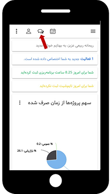 بروزرسانی بهتایم موبایلی : تقویم فارسی -گفتگوی آنلاین
